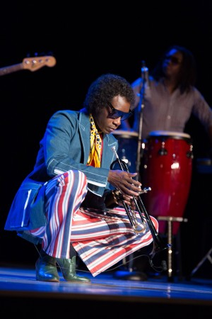 Don Cheadle stas as Miles Davis in MILES AHEAD. ©Sony Pictures Classics. CR: Brian Douglas.