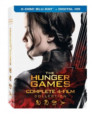 THE HUNGER GAMES COMPLETE 4-FILM COLLECTION. (DVD Artwork) ©Lionsgate.