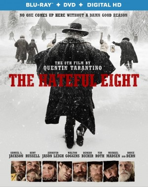 THE HATEFUL EIGHT. (DVD Artwork). ©The Weinstein Company.