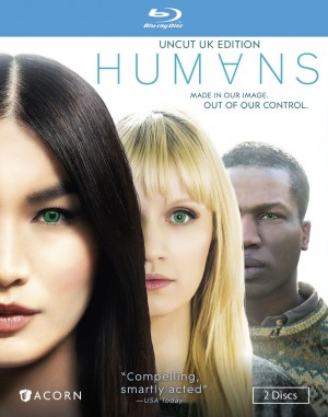 HUMANS: UNCUT UK EDITION. (DVD Artwork). ©Acorn.