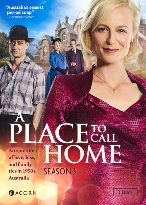 A PLACE TO CALL HOME. (DVD Artwork). ©Acorn.