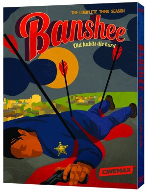 BANSHEE: THE COMPLETE THIRD SEASON. (DVD Artwork). ©HBO Studios.