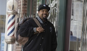 Ice Cube stars as Calvin Palmer in BARBERSHOP: THE NEXT CUT. ©Warner Bros. Entertainment/MGM Pictures. CR: Chuck Zlotnick.