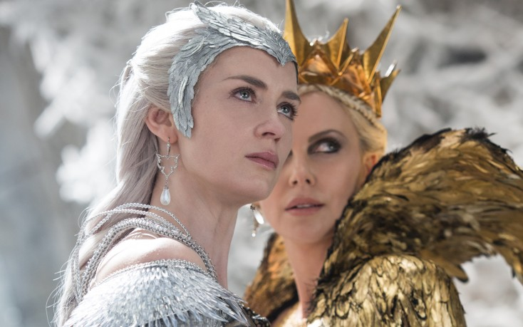 Charlize Theron, Emily Blunt Get the Royal Treatment in 'The Huntsman: Winter's War'