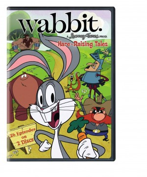 WABBIT. A LOONEY TUNES PROD. HARE-RAISING TALES. (DVD Artwork). ©Cartoon Network.