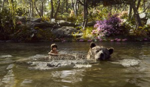 THE JUNGLE BOOK features (l-r) Mowgli (Neel Sethi) and Baloo (voiced by Bill Murray) MOWGLI and BALOO. ©2016 Disney Enterprises, Inc.