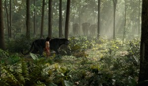 (L-R) Mowgli (Neel Sethi) and Bagheera (voiced by Sir Ben Kingsley) in THE JUNGLE BOOK. ©2016 Disney Enterprises, Inc. All Rights Reserved.
