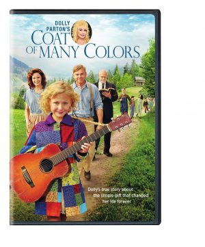 DOLLY PARTON'S COAT OF MANY COLORS. (DVD Artwork). ©Warner Home Entertainment.