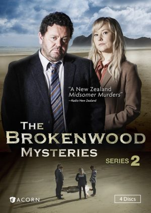 THE BROKENWOOD MYSTERIES SERIES 2. (DVD Artwork). ©Acorn.