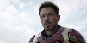 Iron Man/Tony Stark (Robert Downey Jr.) in MARVEL'S CAPTAIN AMERICA: CIVIL WAR. ©Marvel.