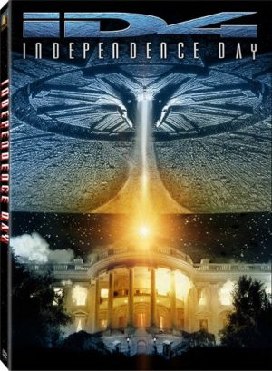 INDEPENDENCE DAY. (DVD Artwork). ©20th Century Fox.