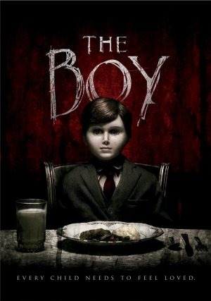 THE BOY. (DVD Artwork). ©Universal Studios Home Entertainment.
