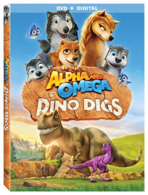 ALPHA AND OMEGA DINO DIGS. (DVD Artwork). ©Lionsgate.