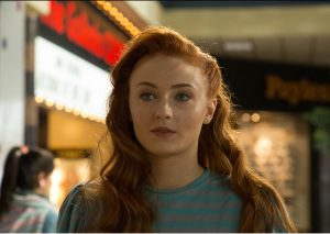 Sophie Turner is Jean Grey in X-MEN: APOCALYPSE. ©Marvel/20th Century Fox. CR: Alan Markfield