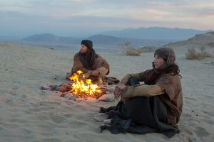 (l to r) Ewan McGregor stars as 'Jesus' and Tye Sheridan as 'Son' in the imagined chapter of Jesus' forty days of fasting and praying, LAST DAYS IN THE DESERT. ©Broad Green Pictures.CR: Gilles Mingasson / Broad Green Pictures