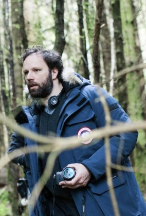 Director Yorgos Manthimos on the set of THE LOBSTER. ©A34 Films.