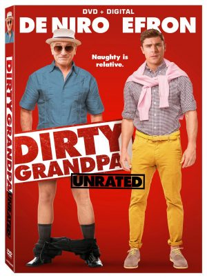 DIRTY GRANDPA. (DVD Artwork). ©Lionsgate.