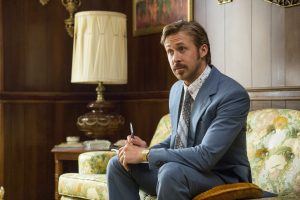 Ryan Gosling as Holland March in THE NICE GUYS. ©Warner Bros. Entertainment. CR: Daniel McFadden.