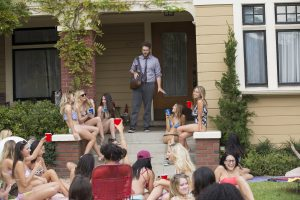 Seth Rogen stars in NEIGHBORS 2: SORORITY RISING. ©Universal Studios. CR: Justin Lubin.