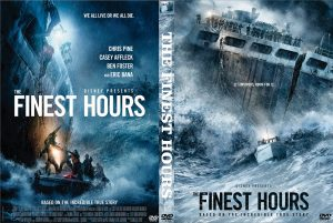THE FINEST HOURS. (DVD Artwork). ©Disney.