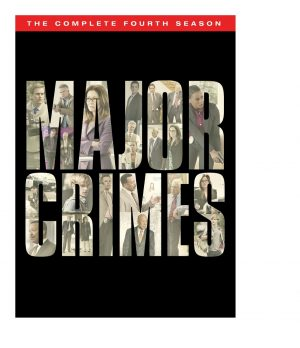 MAJOR CRIMES. (DVD Artwork). ©Warner Home Video.
