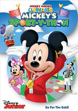 MICKEY'S SPORT-Y-THON. (DVD Artwork). ©Disney