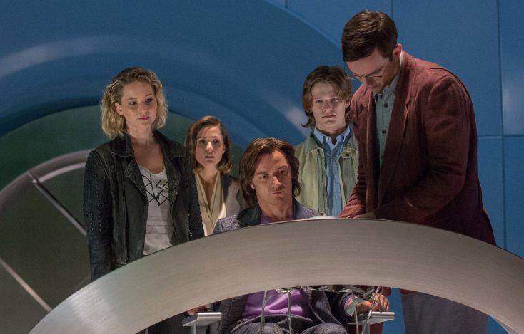 Photos: James McAvoy's Hairy Adventure in 'X-Men: Apocalypse'