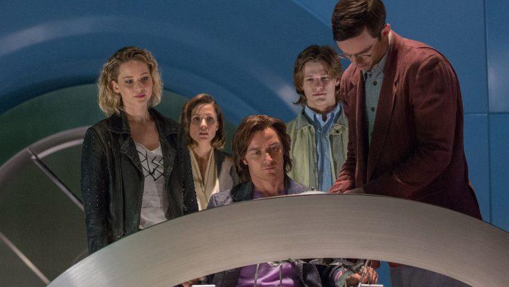 Photos: James McAvoy's Hairy Adventure in 'X-Men: Apocalypse'