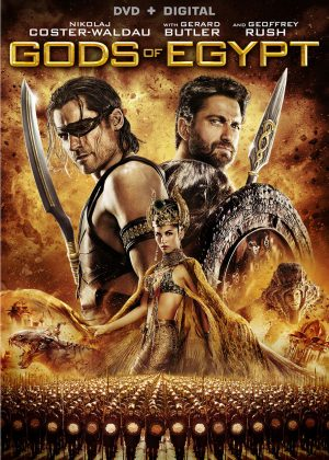 GODS OF EGYPT. (DVD Artwork). ©Lionsgate.