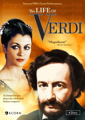 THE LIFE OF VERDI. (DVD Artwork). ©Acorn.