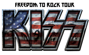 Legendary rock band KISS heads out on its 35-city Freedom to Rock Tour in July.