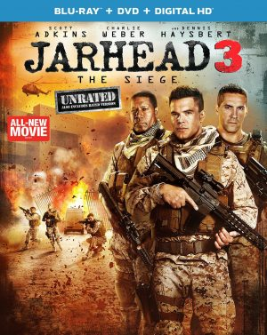 JARHEAD 3: THE SIEGE. (DVD Artwork). ©Universal Home Entertainment.