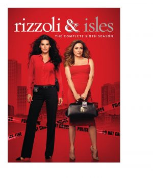 RIZZOLI & ISLES: THE COMPLETE SIXTH SEASON. (DVD Artwork). ©Warner Home Entertainment.