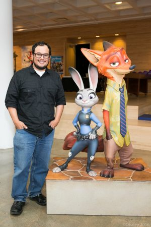 Voice over talent and animator Raymond Persi at the ZOOTOPIA In-Home Global Press Event. ©Disney. CR: Kayvon Esmaili.
