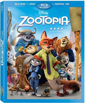 ZOOTOPIA. (DVD Artwork). ©Walt Disney Studios.