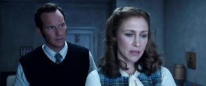 (l-r) Patrick Wilson as Ed Warren and Vera Farmiga as Lorraine Warren in THE CONJURING 2. ©Warner Bros. Entertainment / Ratpack-One Entertainment.