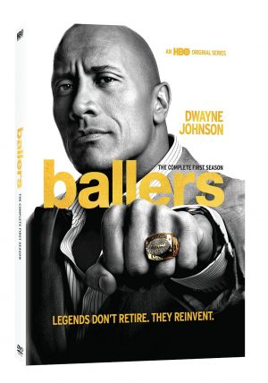 BALLERS THE COMPLETE FIRST SEASON. (DVD Artwork). ©HBO.