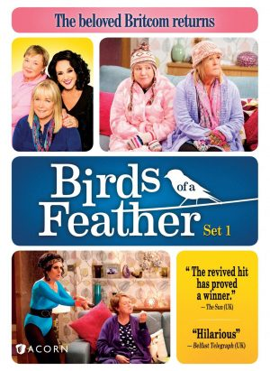 BIRDS OF A FEATHER SET 1. (DVD Artwork). ©Acorn.