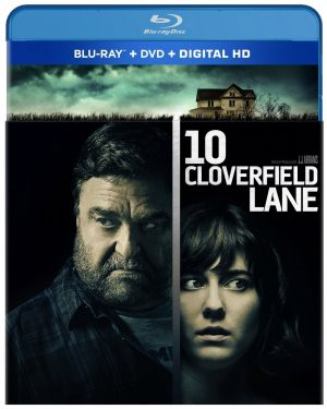 10 CLOVERIELD LANE. (DVD Artwork). ©Paramount