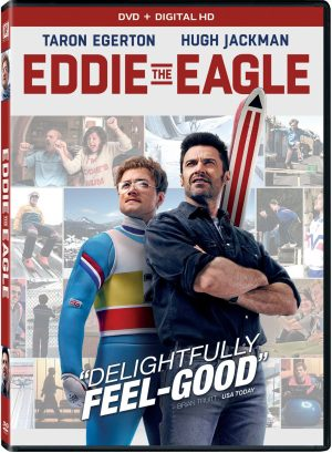 EDDIE THE EAGLE. (DVD Artwork)). ©20th Century Fox.