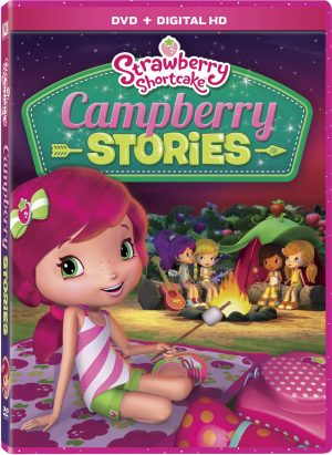 STRAWBERRY SHORTCAKE CAMPBERRY STORIES. (DVD Artwork). ©20th Century Fox.