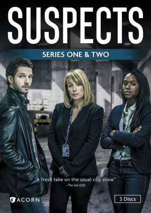 SUSPECTS SERIES ONE & TWO. (DVD Artwork).  ©Acorn.