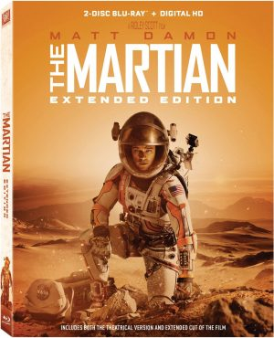 THE MARTIAN EXTENDED EDITION. (DVD Artwork). ©20h Century Fox.