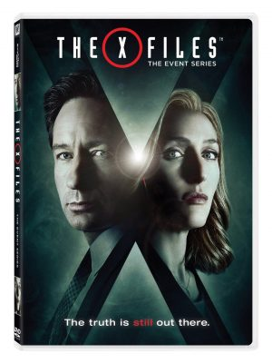THE X FILES THE EVENT SERIES. (DVD Artwork) ©20th Century Fox.