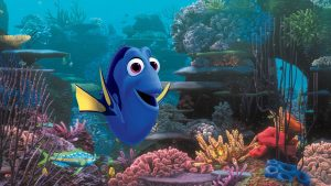 Ellen Degeneres voices the character Dory in FINDING DORY. ©Disney•Pixar. All Rights Reserved.