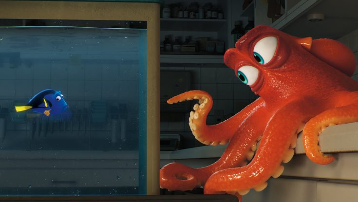 Photos: Ellen DeGeneres Dives Back in to Pixar Character with 'Finding Dory'