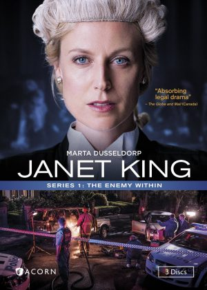JANET KING SERIES 1: THE ENEMY WITHIN. (DVD Artwork). ©Acorn.