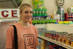 Greta Gerwig stars in WIENER-DOG. ©Amazon/IFC Films. CR: Linda Callerus.