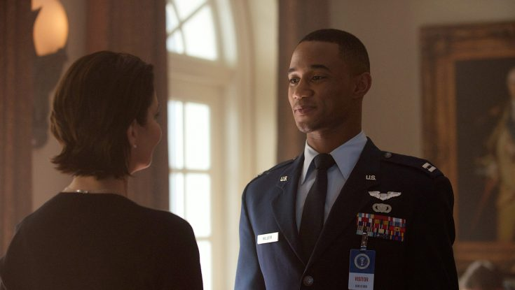 "Photos: Jessie T. Usher Powers Through ""Independence Day: Resurgence"""