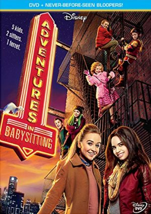 DISNEY'S ADVENTURES IN BABYSITTING. (DVD Artwork). ©Disney.